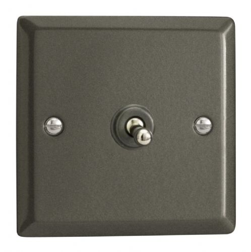 Varilight XPT7 Classic Graphite 21 1 Gang 10A Intermediate Toggle Light Switch
